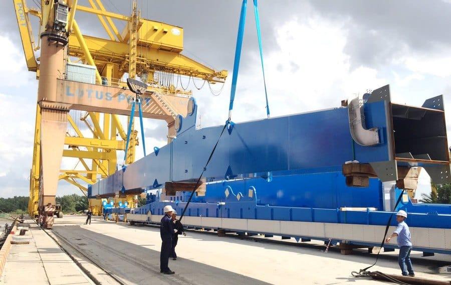 quy trình xếp dỡ hàng hóa tại cảng