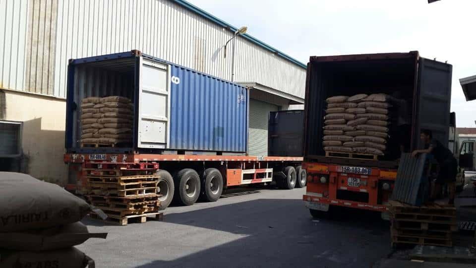 quy trình thuê xe container chở hàng