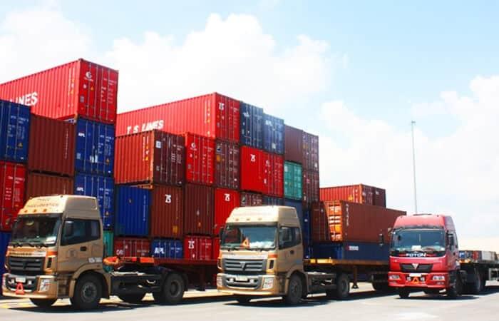 Container vận chuyển hàng hóa Bắc Nam